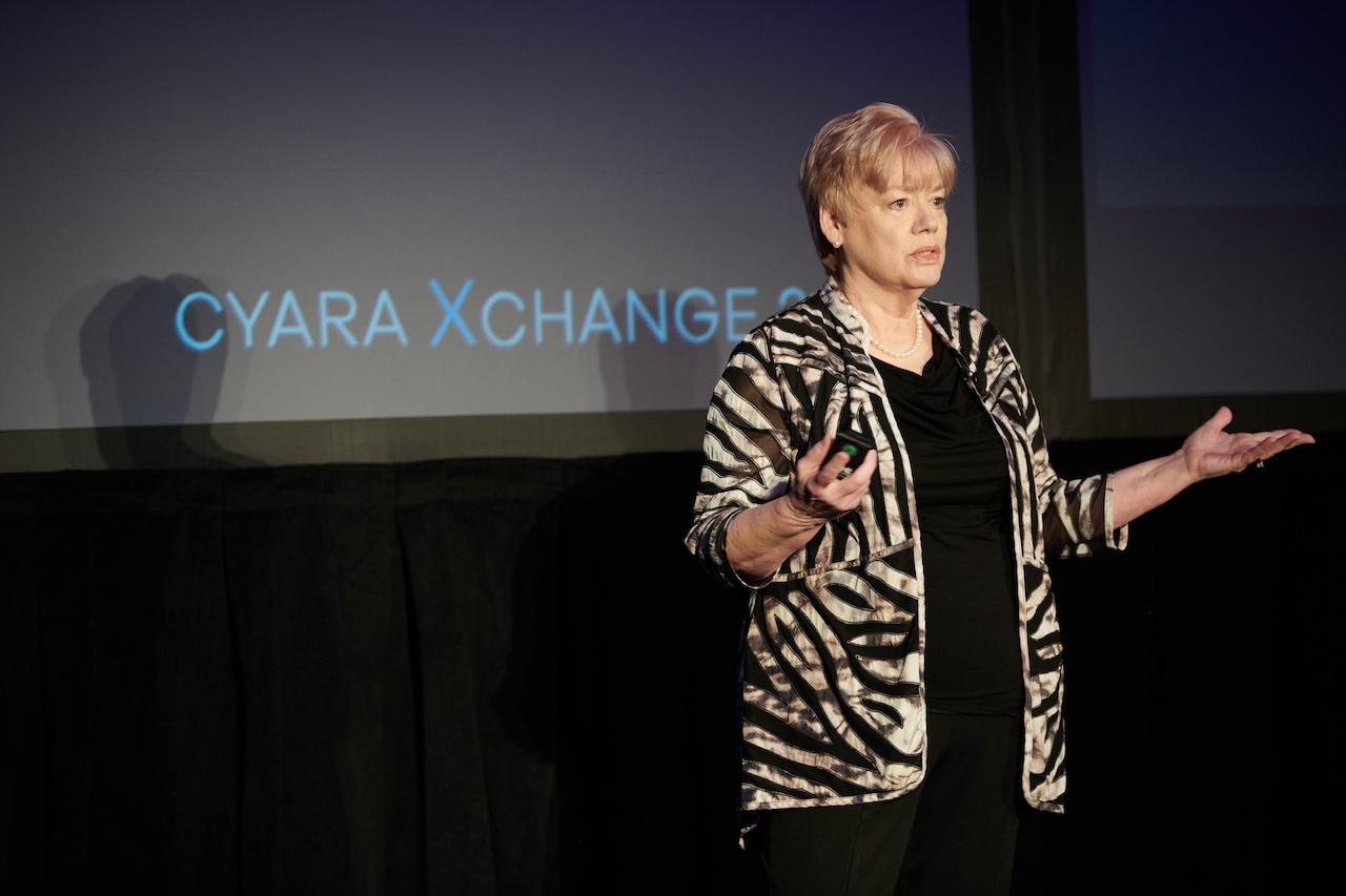 Beverly McIntosh presents at Cyara Xchange 2018