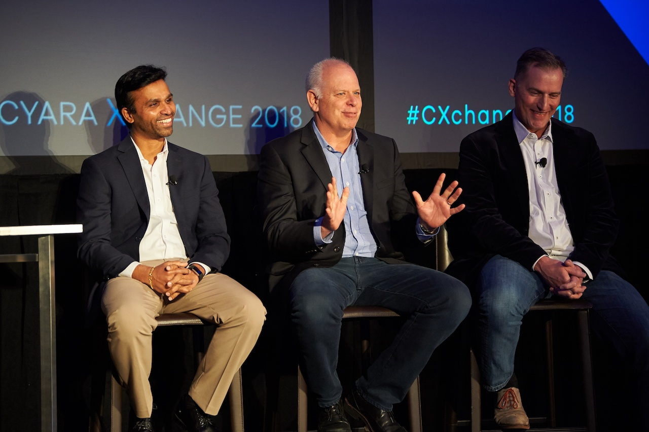 A panel of experts on Agile transformation at Cyara Xchange 2018